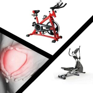 ارتباط درد زانو با دوچرخه ثابت